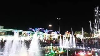 Музыкальный фонтан Сохо в шарм эль шейхе النافورة الرائعة في شرم الشيخ