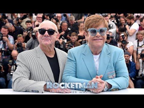 Elton John and Taron Egerton Perform 'Rocket Man' at Cannes