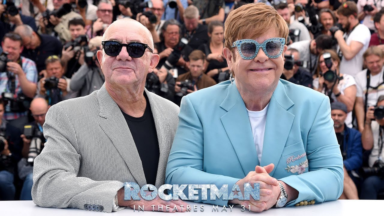 "Download Elton John & Bernie Taupin Talk ""Rocketman"""