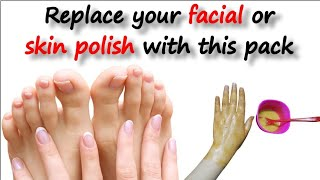 Instant Face Whitening Home Remedy At Home: Fast Fairness like salon