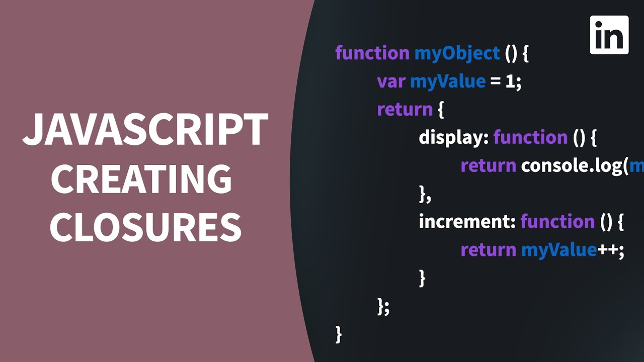 Explore Nested FUNCTIONS and Scope With Closures in Javascript