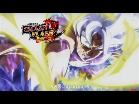 SSF2 Mods - Goku Mastered Ultra Instinct V2!