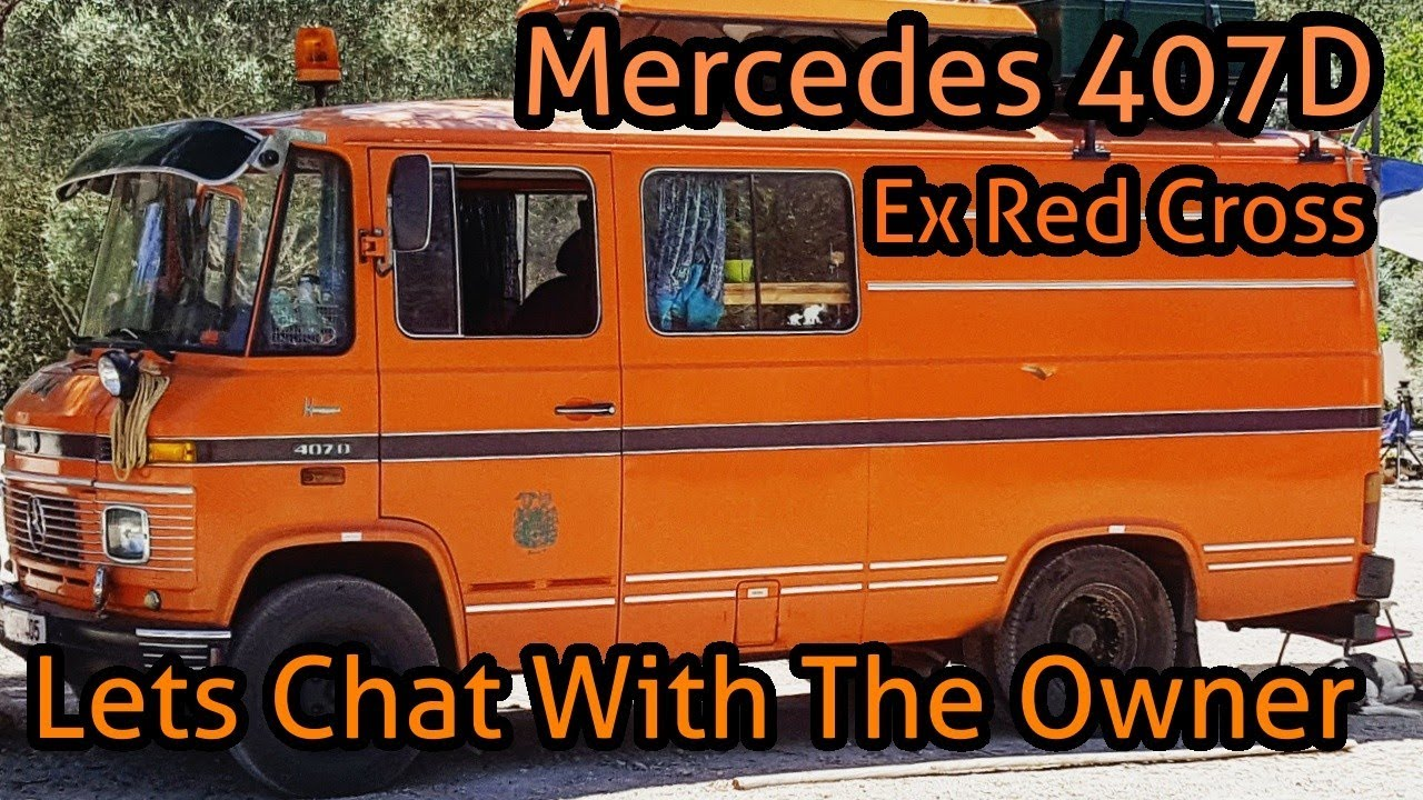 Look Around And Chat With Jonas And His Mercedes 407D