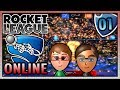 Rocket League - 2v2 Online EP. 1 -  VS Connor's Ex-Girlfriend?!