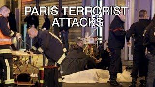 Paris Terrorist Attack 2015: Explosion Germany France Soccer Match Stade de France, Theatre Hostages