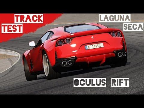 TRACK TEST Laguna Seca #6 - Ferrari 812 Superfast - Hotlap | Assetto Corsa VR Gameplay [Oculus Rift]
