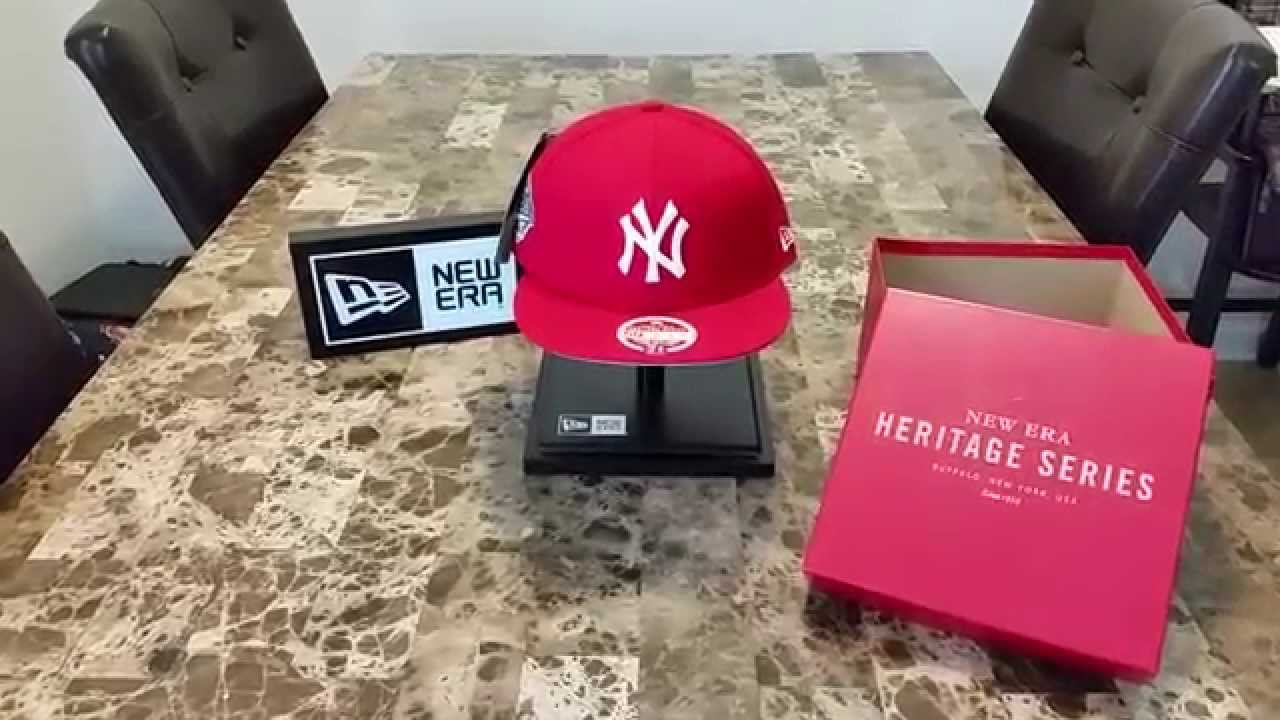 2a1e023045d27 New Era New York Yankees Spike Lee Heritage Series Hat - YouTube