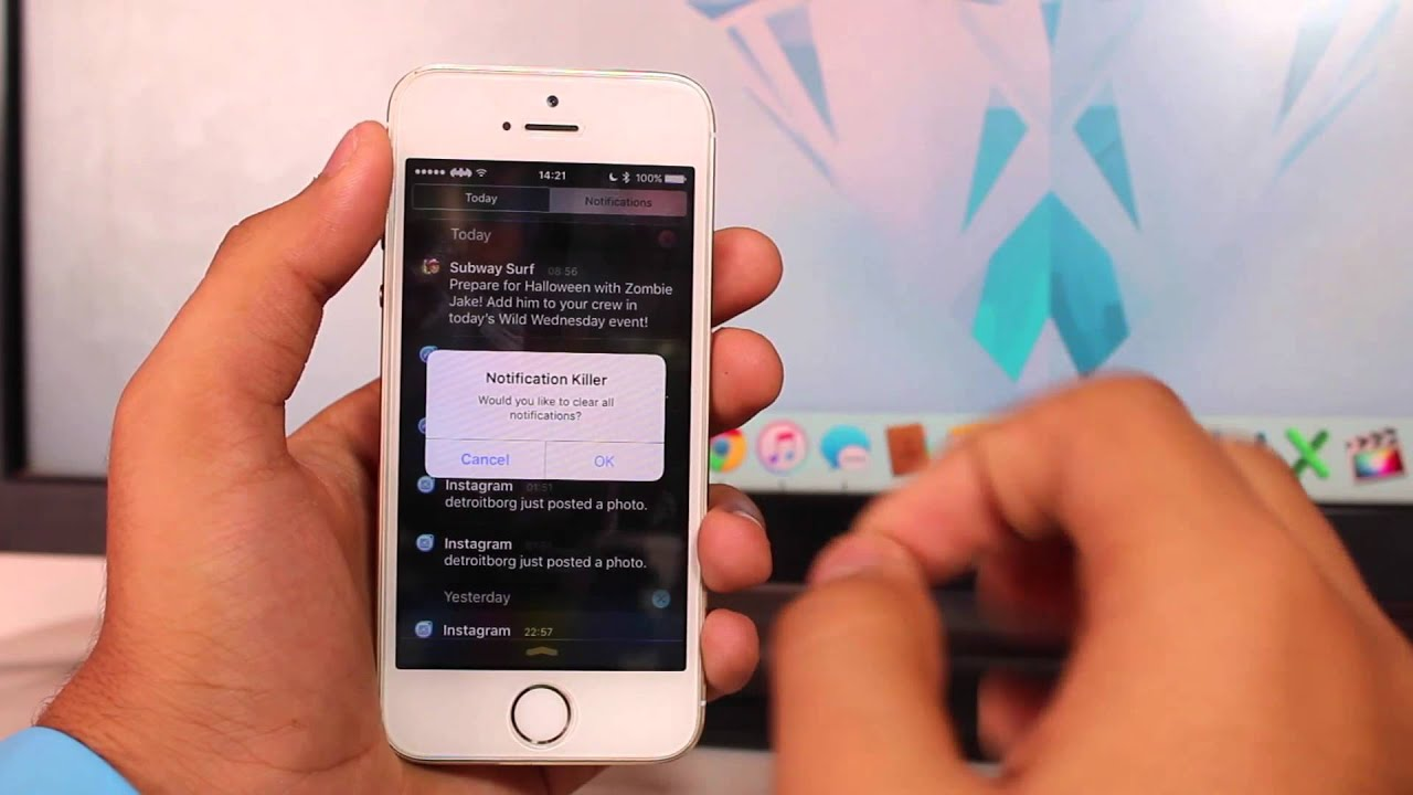 How to clear all notifications at once in ios 9 on iphone or ipad how to clear all notifications at once in ios 9 on iphone or ipad through jailbreak ccuart Image collections