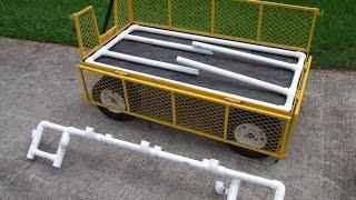 Garden Wagon | Garden Wagon With Seat