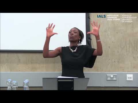 Telling stories about law and development - Professor Diamond Ashiagbor