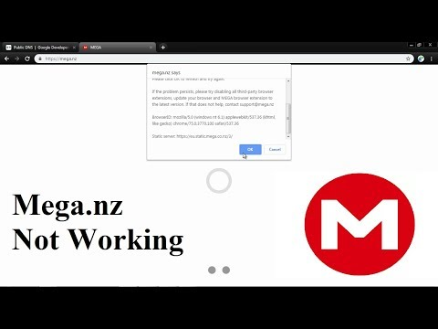 mega.nz-failed-to-load,-(website-not-working)-2020-[resolved]-dns-settings