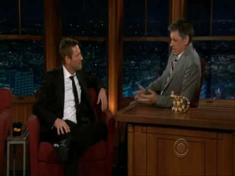Aaron Eckhart on The Late Late  with Craig Ferguson 3.7.11