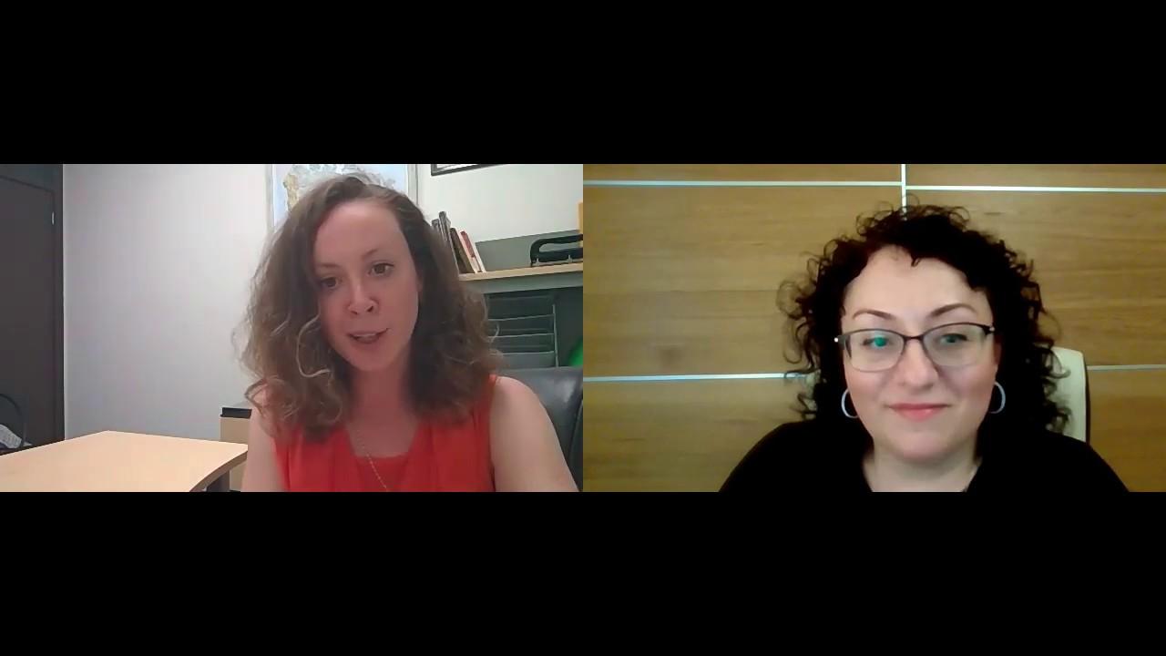 Видео интервью с маркетологом Жанной Горфель (Russian)