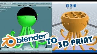 How to Export STL from Blender for 3D Printing