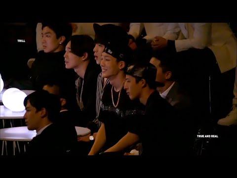 2014 mama - Reaction to EXO (BOBBY Focus)
