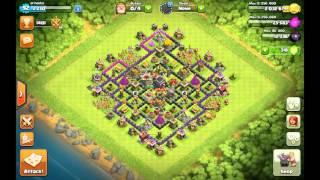 Clash Of Clans level 3 Archer Queen and upgrading our spell factory