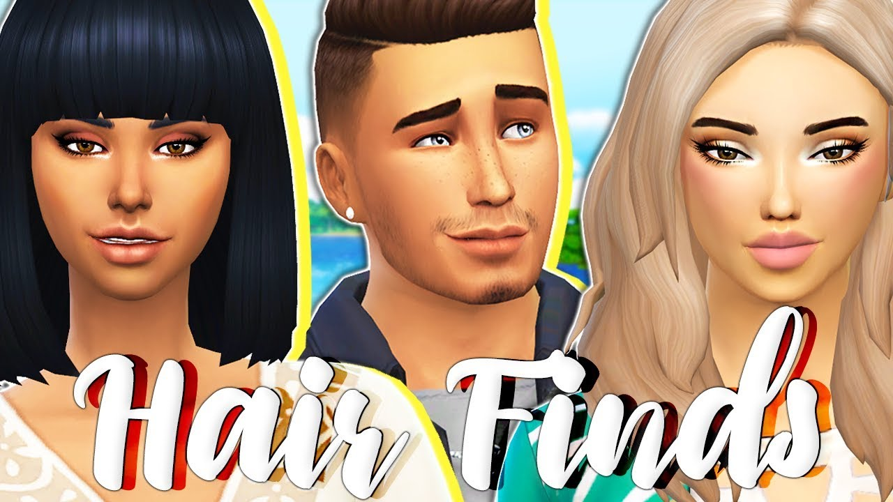 Maxis Match Cc Hair Finds😍 Female Amp Male The Sims 4