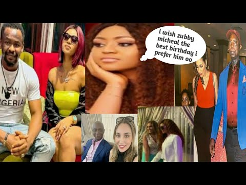 Fans Dr@gg!ng Regina Daniels For Wishing Zubby Micheal Happy Birthday & Not To Co-morrocan Wife