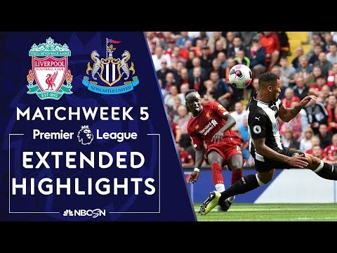 Liverpool v. Newcastle United | PREMIER LEAGUE HIGHLIGHTS | 9/14/19 | NBC Sports