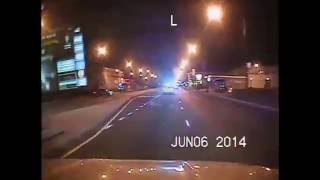 Chicago Police Dashcam Officer responding to officer shot 10-1 with scanner audio