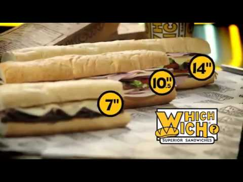 which wich it s what you want now offering large wiches youtube