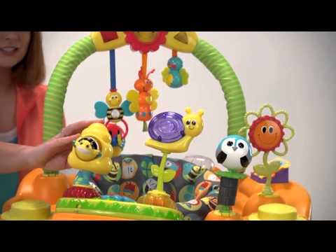 Evenflo Exersaucer Double Fun - Bumbly   Toys R Us Canada