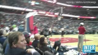 Jak działa Ameryka: mecz NBA na żywo: Marcin Gortat