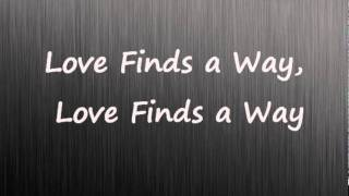 Love Finds a Way, songs by Matthew Davies