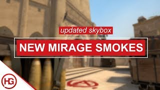 ALL THE NEW MIRAGE SMOKES YOU NEED TO KNOW (UPDATED SKYBOX 2018)