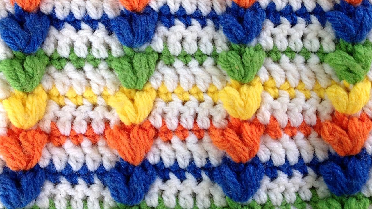 Puff Crochet Stitch Pattern by Maggie Weldon of Maggies Crochet ...