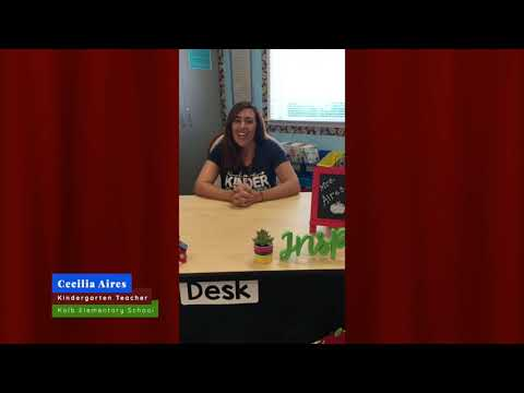 Kolb Elementary School - Meet Kindergarten Teacher, Cecilia Aires