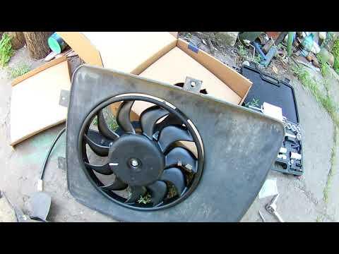 Замена стандартного вентилятора ОЖ на 11 лопастной на ваз 2110. Улучшаем систему охлаждения.
