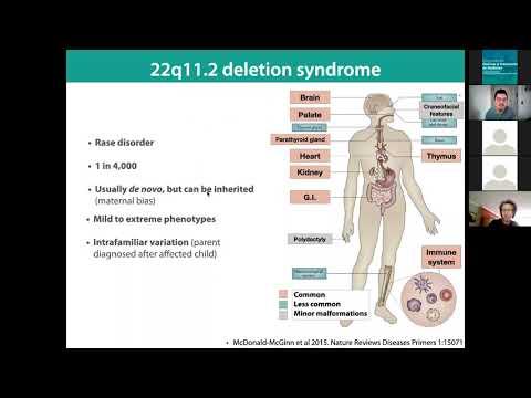 Pacientes con el síndrome de la deleción 22q11.2 maternalmente heredado.