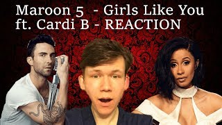Baixar Maroon 5 - Girls Like You ft. Cardi B Song + Music Video REACTION