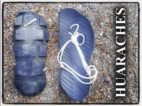 Sandalias Huaraches de unas Continental TKC80 Videos De Viajes