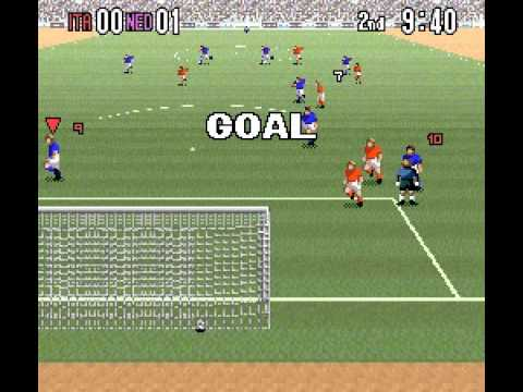 SNES Super Formation Soccer 94: World Cup Edition