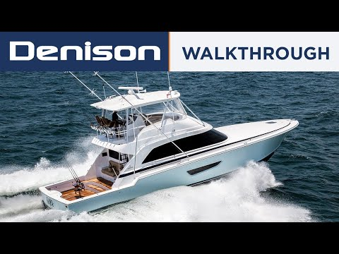 61 Bertram Sportfish Yacht [Walkthrough]
