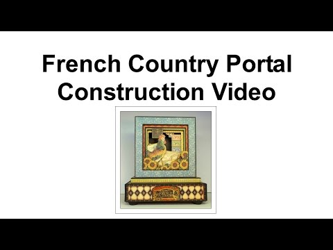 5 French Country Portal Construction - Finishing