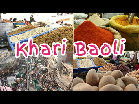 Delhi:6 Khari Baoli Market famous for Spices