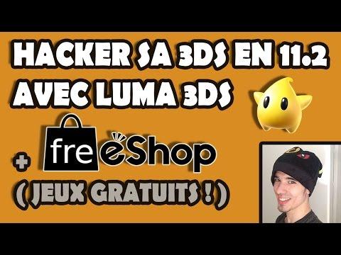 HACKER SA 3DS en 11.2 AVEC LUMA 3DS + FREESHOP !