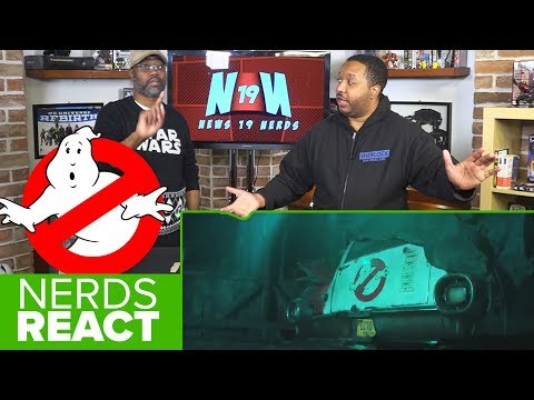 NERDS REACT to Ghostbusters (2020) – Teaser Trailer!