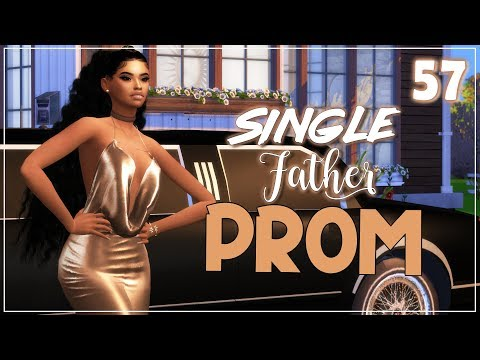 The Sims 4 😍Single Father😍#57 NYA GOES TO PROM