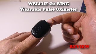 Wellue O2Ring Wearable Oxygen Monitor REVIEW