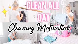 ✨ NEW! ULTIMATE CLEAN WITH ME UK | ALL DAY CLEAN WITH ME | CLEANING MOTIVATION | MASTER BEDROOM BATH