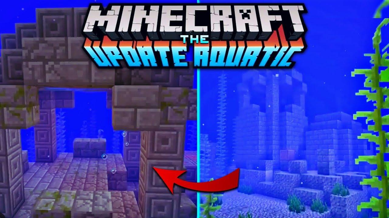 Underwater Ruins (Update Aquatic Concept) [Creation