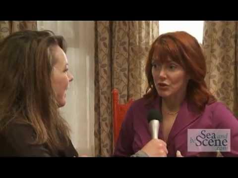 Lynda Boyd   with SABStv