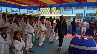 Ukhra Adarsha Hindi High School Inter-StateTaekwondo Meet