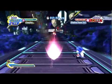 Sonic Generations - Sonic vs. Shadow fight (Un-Gravitify song) ver. 2