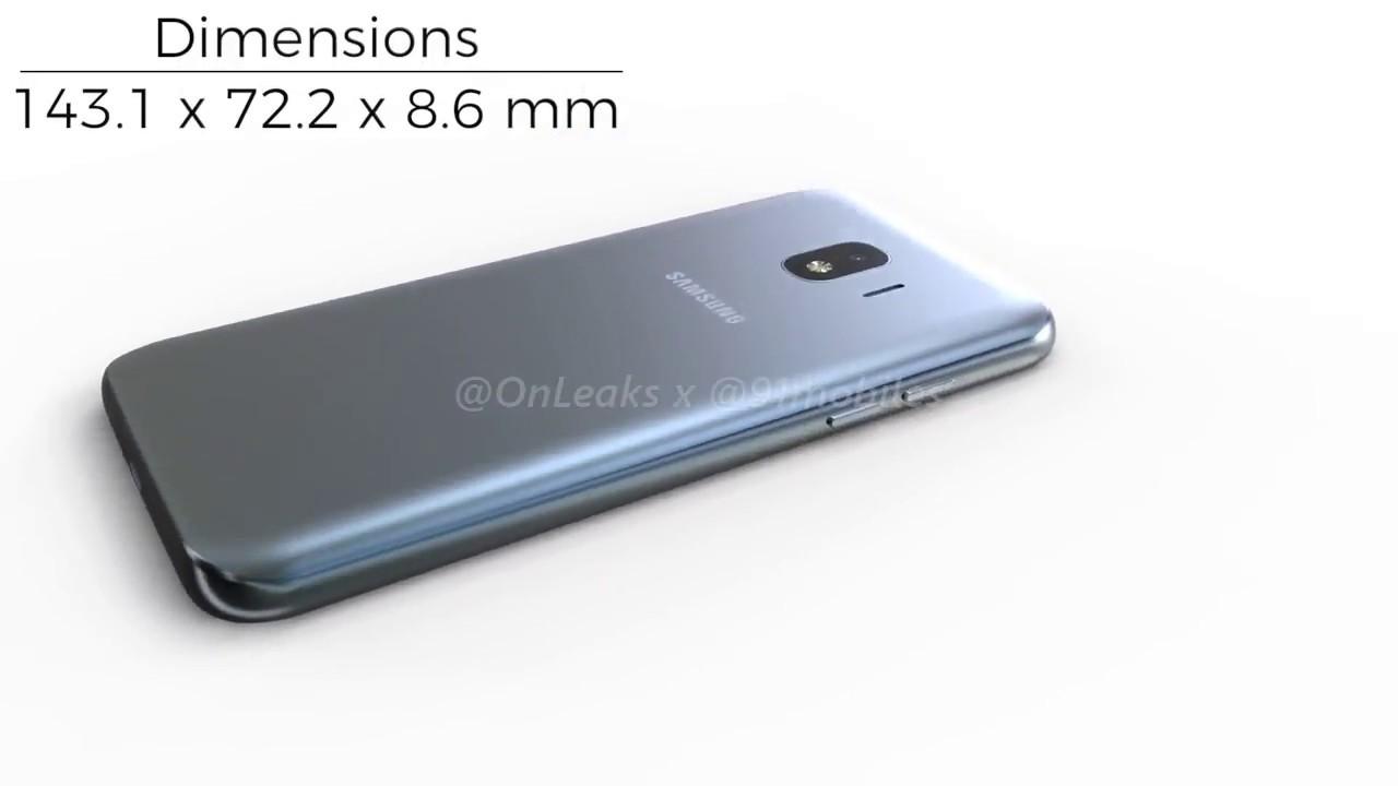 Samsung Galaxy J2 Pro 2018 360 Renders Exclusive Youtube
