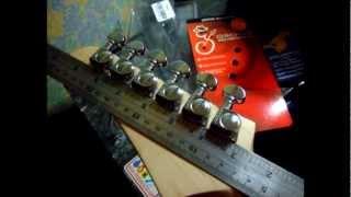 grover mini rotamatics locking tuners installed on yamaha 112j